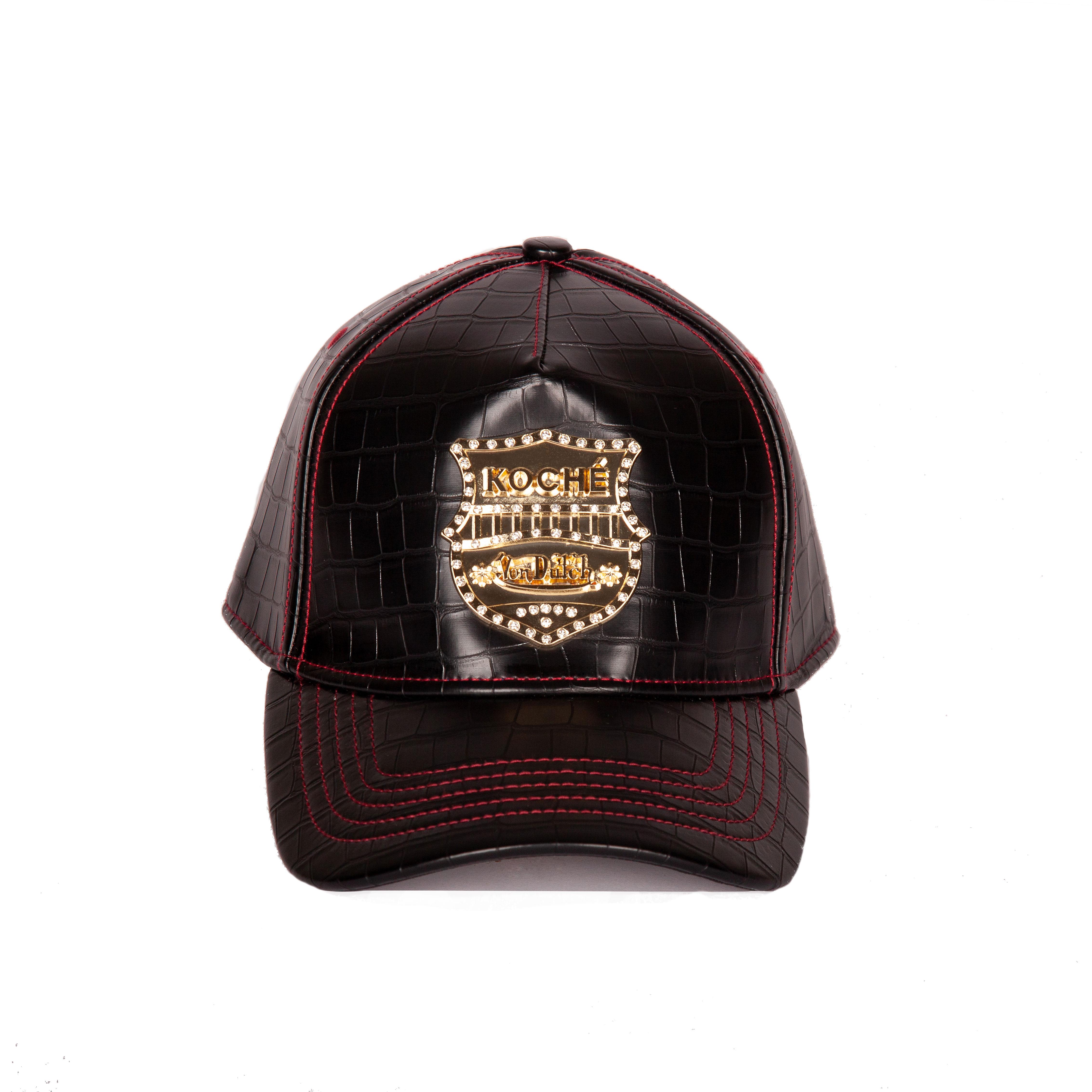 A cap from the Koché X Von Dutch capsule