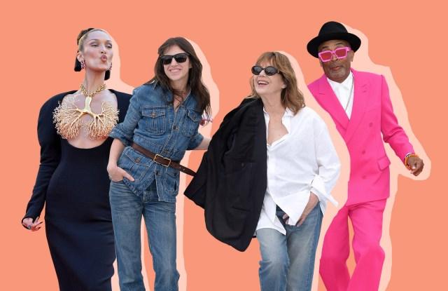 Bella Hadid, Jane Birkin and Charlotte Gainsbourg and Spike Lee