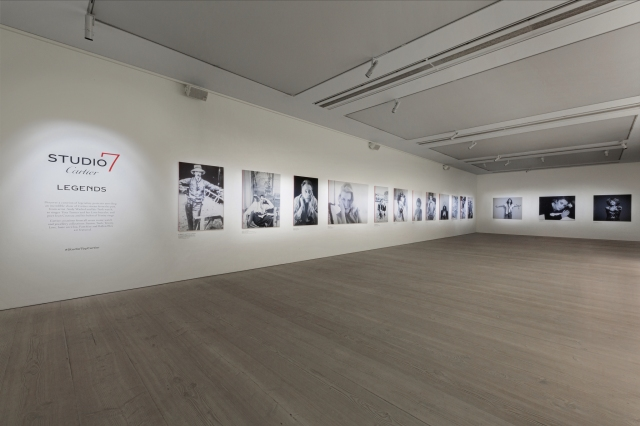 A look at Cartier's new exhibition at The Saatchi Gallery in London.