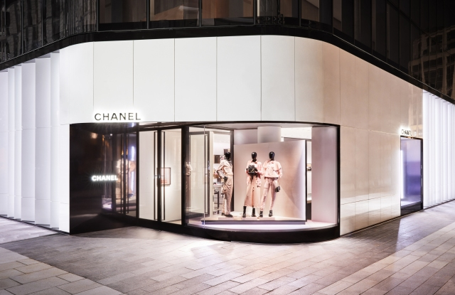 A view of the Chanel store at CityCenterDC.