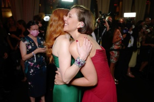Maggie Gyllenhall and Jessica Chastain