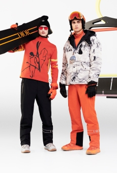 EXCLUSIVE: Dior and Peter Doig Prolong Collaboration With Ski Capsule Line