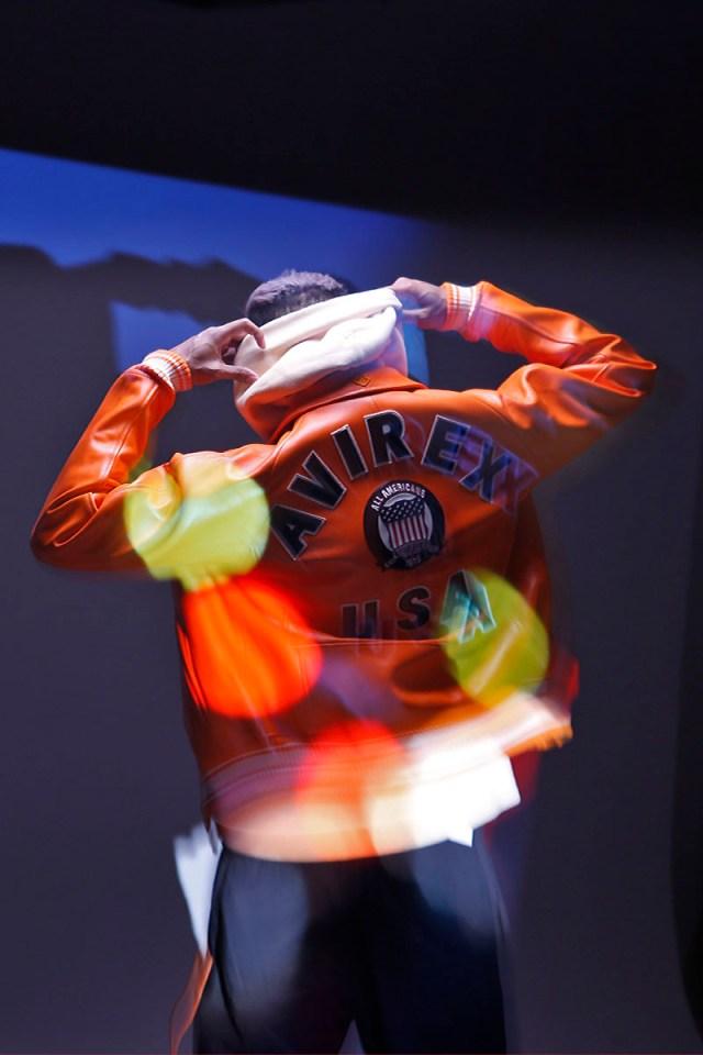 DJ John Lutchman in Avirex.