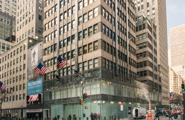A view of 608 Fifth Avenue.