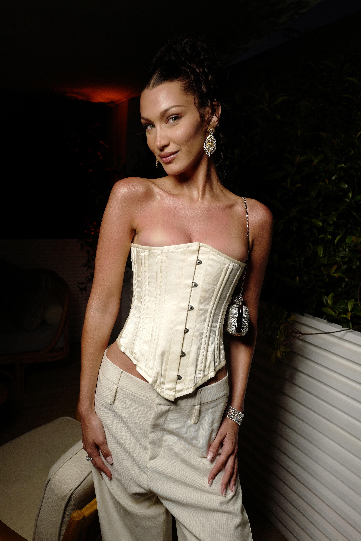 Bella Hadid at Dior in Cannes