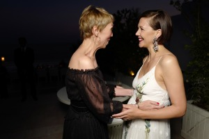 Maggie Gyllenhaal and guest