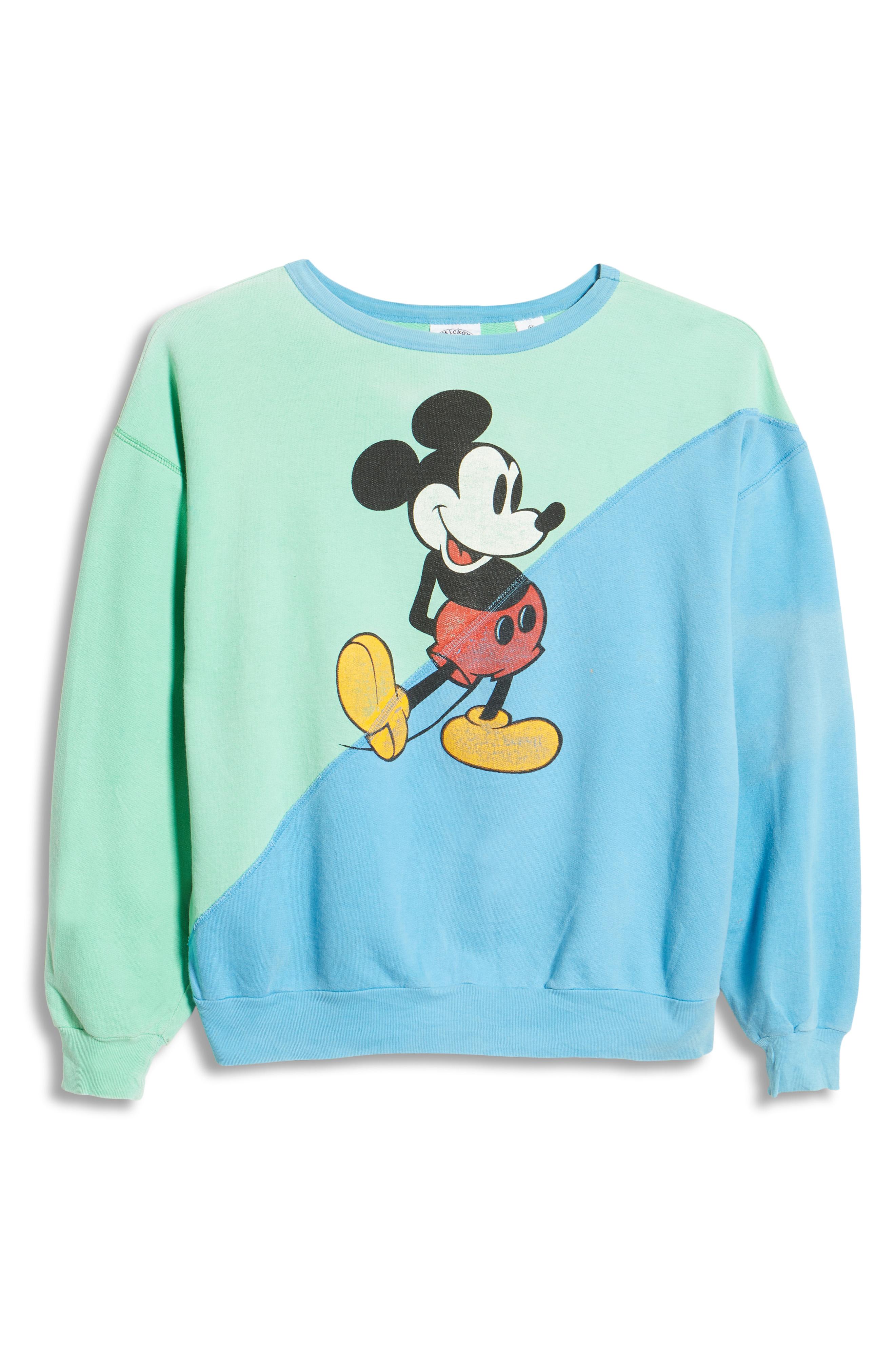 Epidemic Mickey sweatshirt.