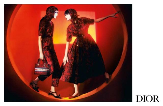 Dior's fall 2021 women's campaign.