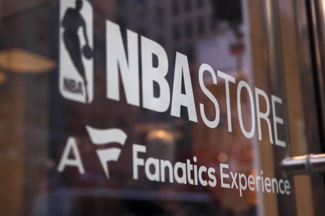 The NBA store.