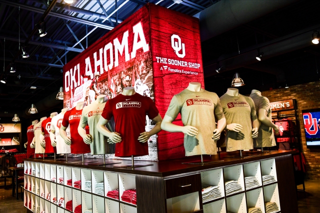 The Oklahoma Team store.