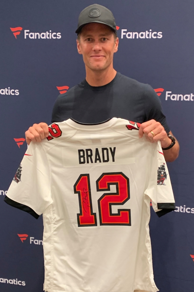 Tom Brady is among the most popular of the NFL players.