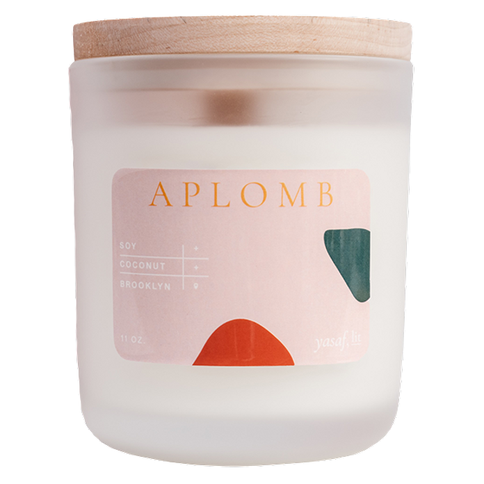 The Aplomb candle.