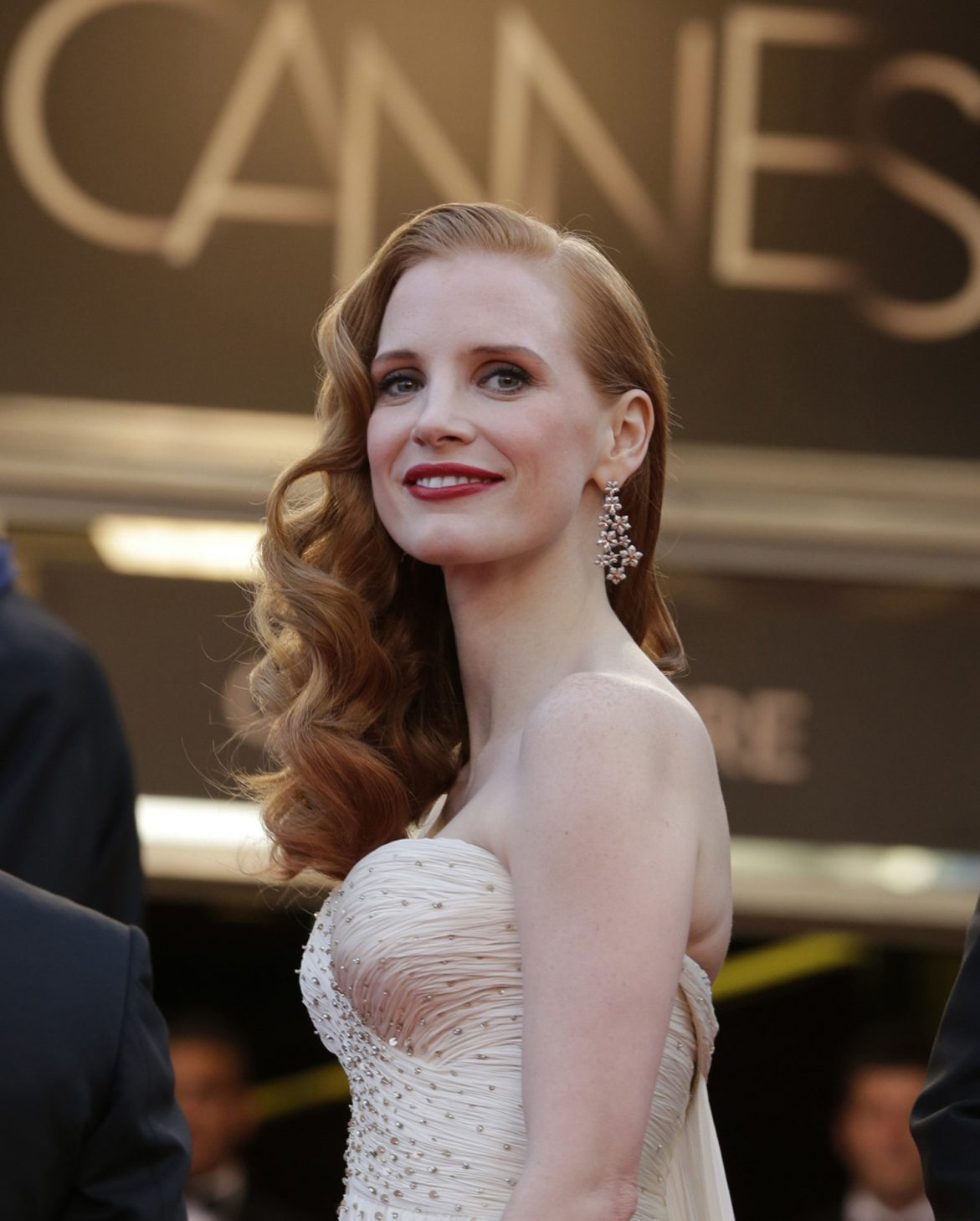 Jessica Chastain in Cannes.