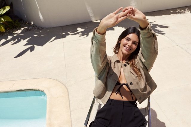 Kendall Jenner X About You