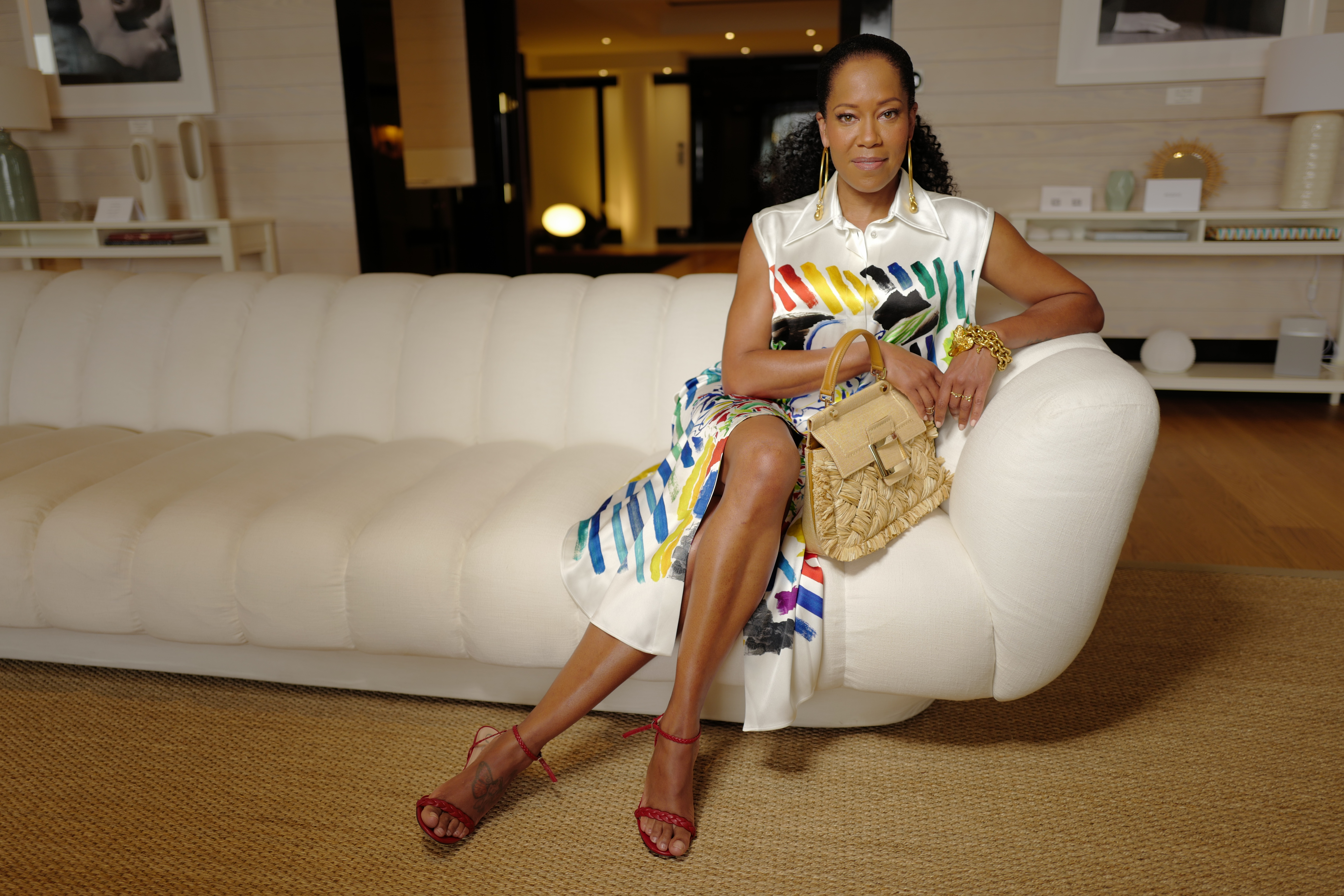 Regina King at the Majestic in Cannes