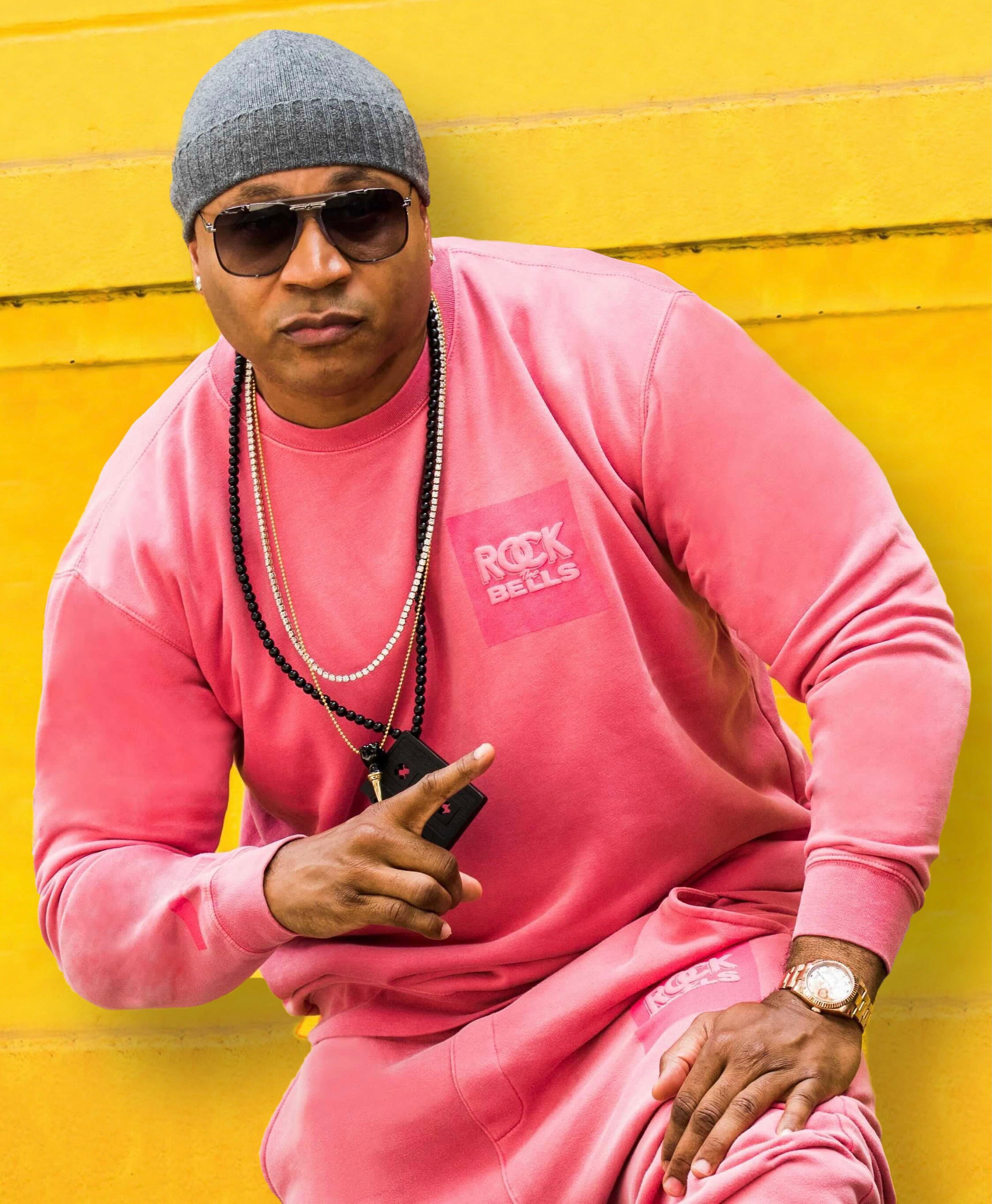 LL Cool J in a look from his Hip-Hop is Essential collection.