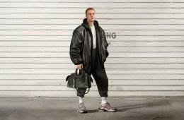 Justin Bieber in the Balenciaga campaign.