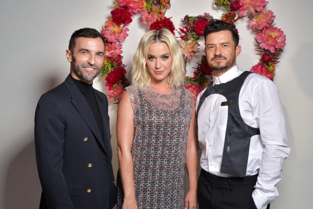Nicolas Ghesquière, Katy Perry and Orlando Bloom.