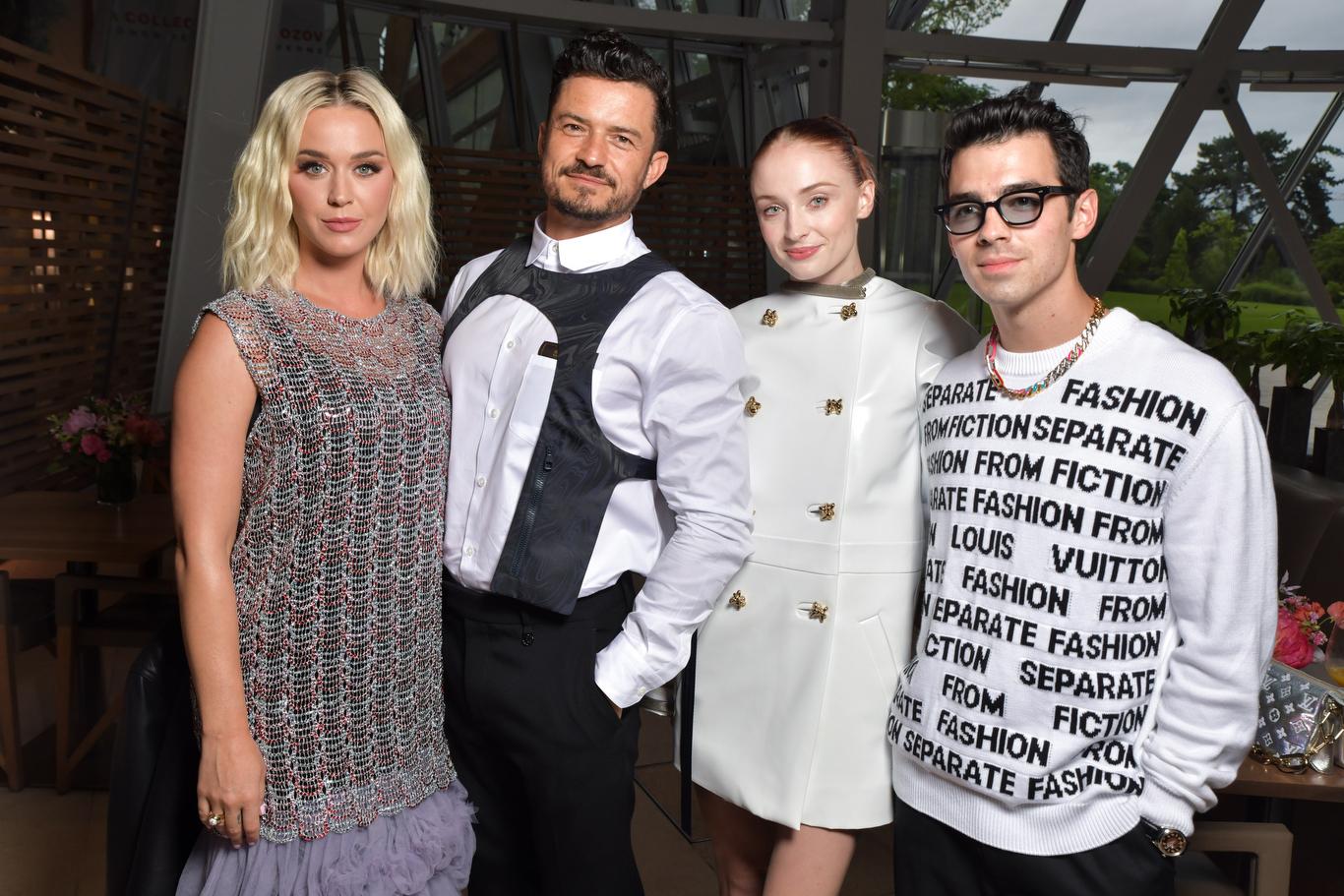 Katy Perry, Orlando Bloom, Sophie Turner and Joe Jonas
