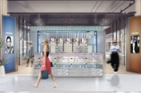 A rendering of the new Flannels beauty hall