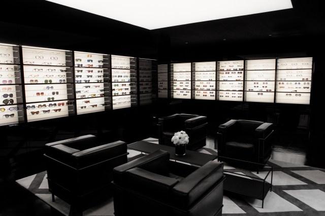 Marcolin's new showroom in Milan.