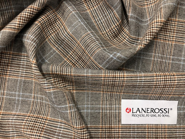"""The recycled """"Lanerossi"""" range from the Marzotto Wool Manufacturing company's fall 2022 collection."""