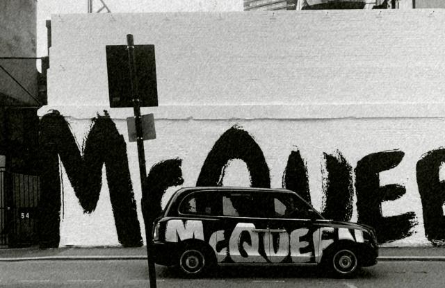McQueen Graffiti guerrilla marketing campaign