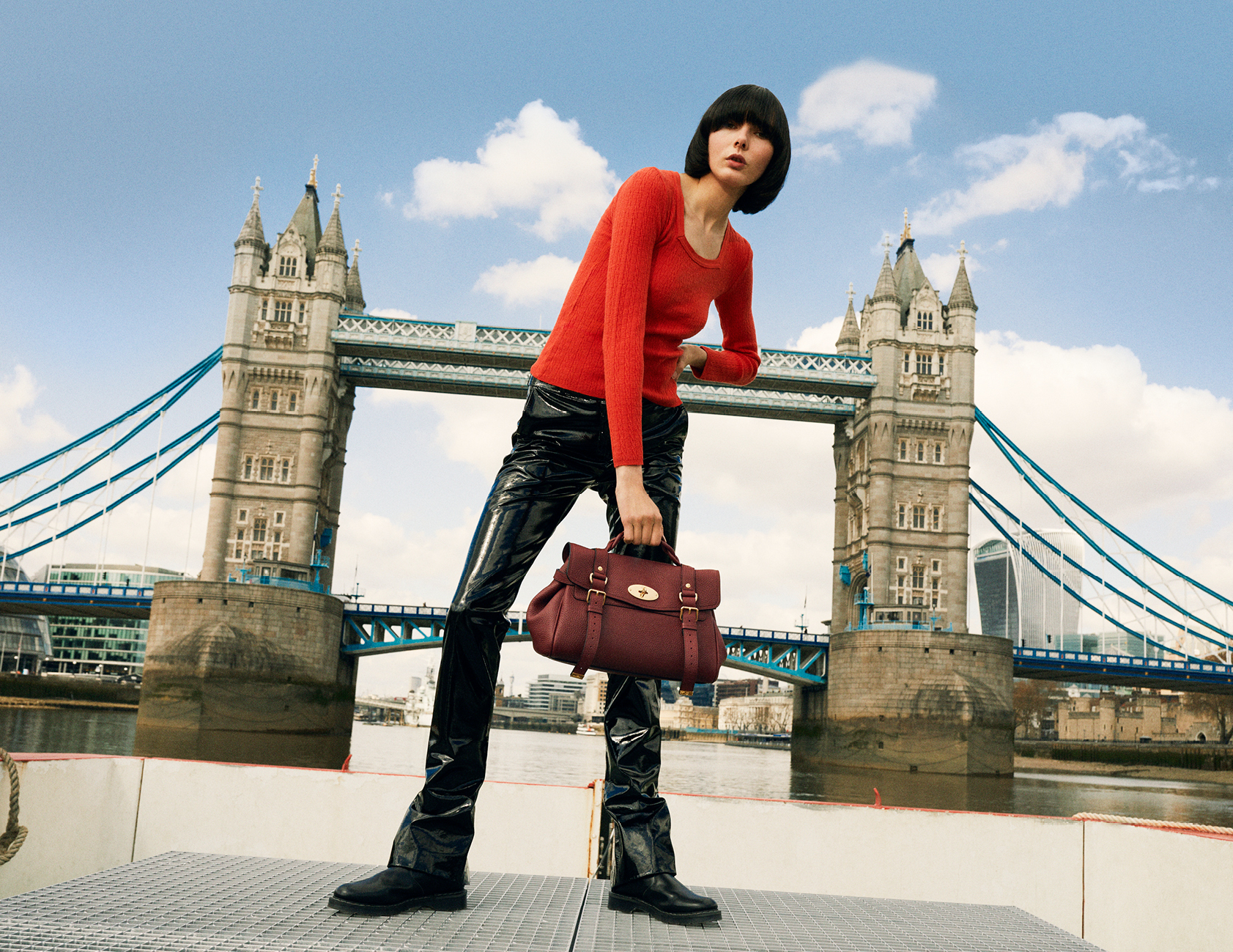 An image from Mulberry's fall/winter 2021 campaign.