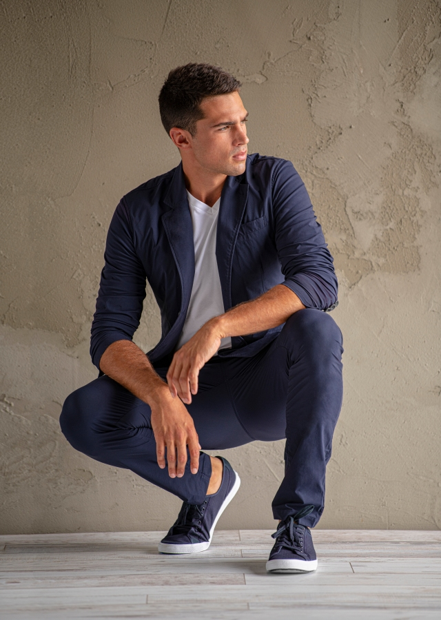 A look from Anatomie's first full men's collection.