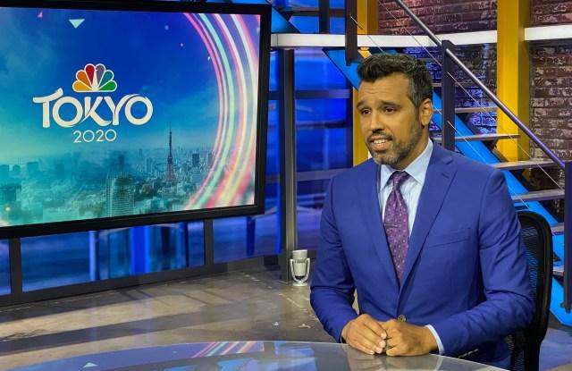 NBC broadcvaster Ahmed Fareed in Indochino.