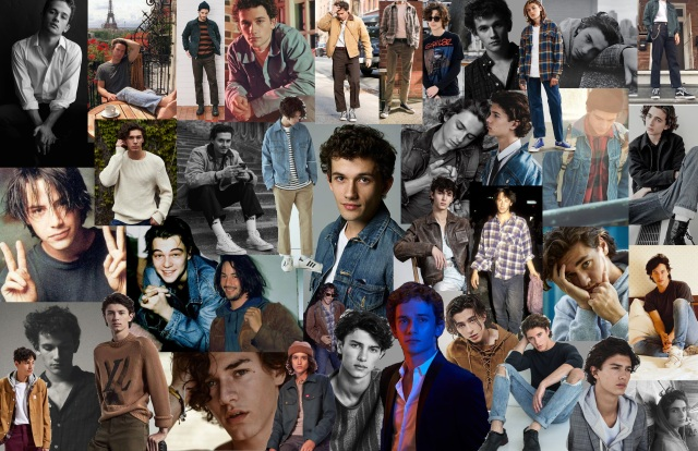 Eric Daman's 'Gossip Girl' mood board for the character Obie