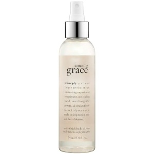 Philosophy Amazing Grace Satin-Finish Body Oil Mist, best body sprays for women