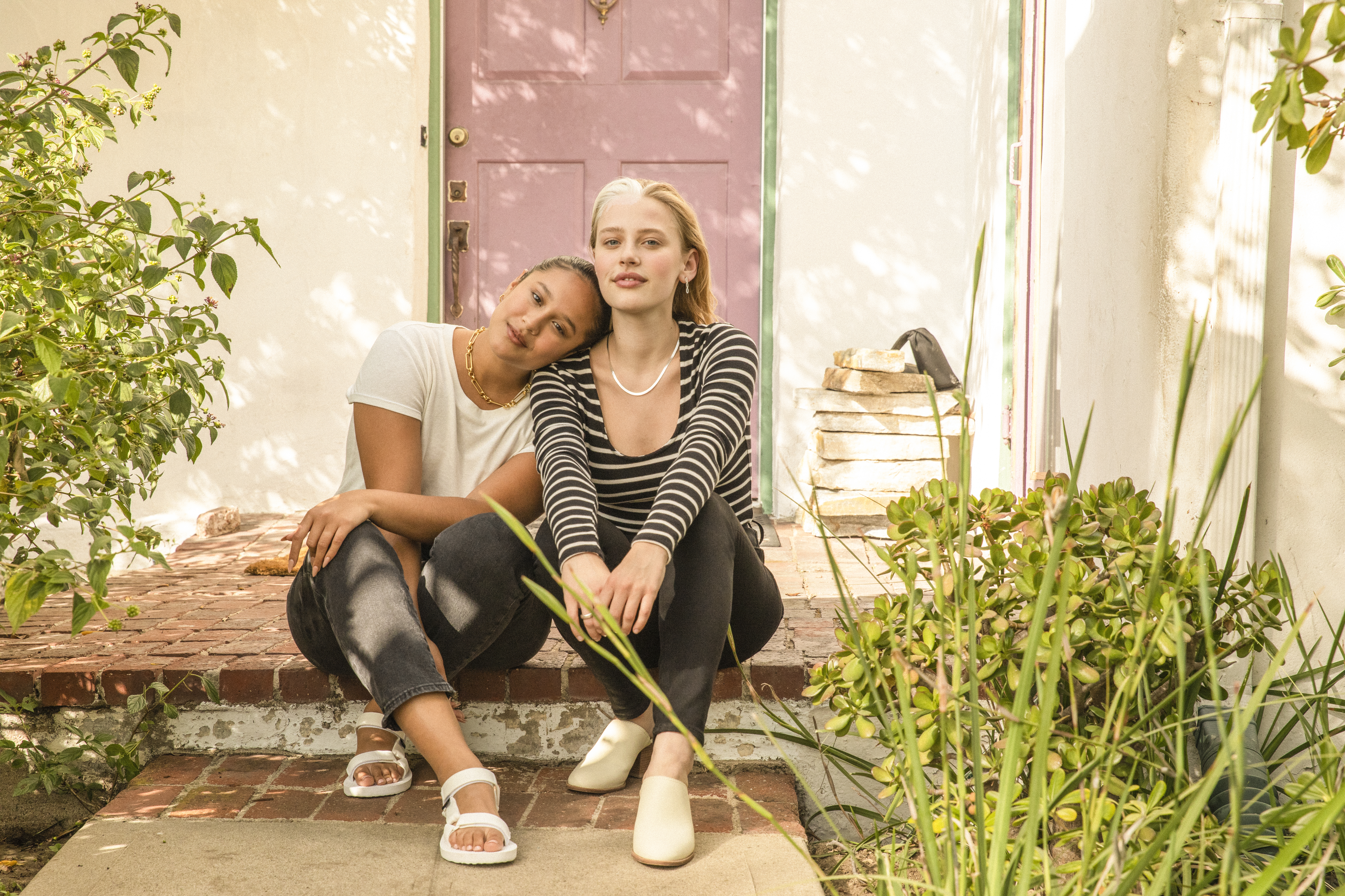 An image from the Madewell Forever campaign.