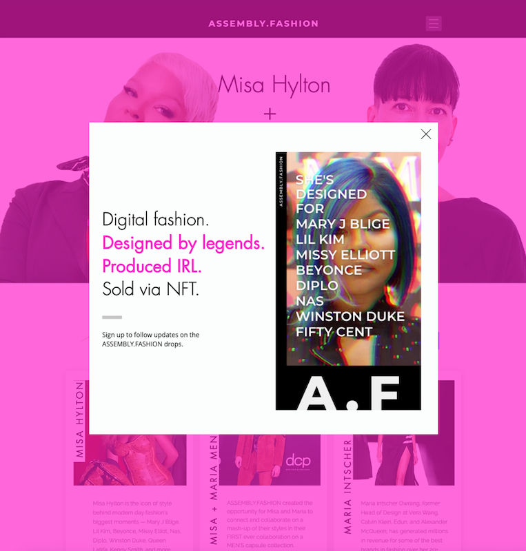 Sustainability, fashion, tech, innovation