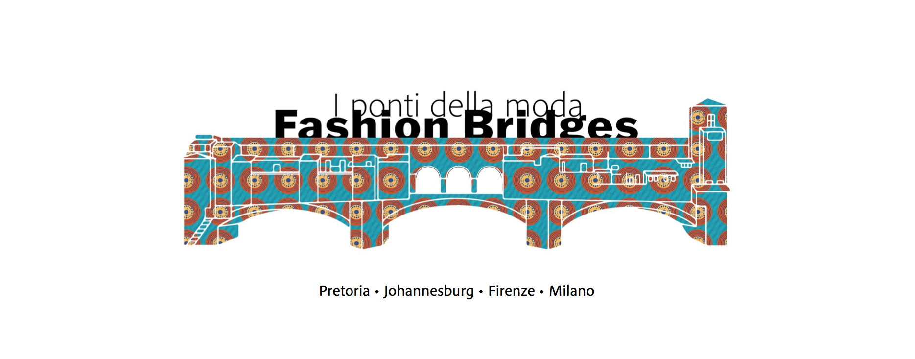 The logo of the Fashion Bridges project.