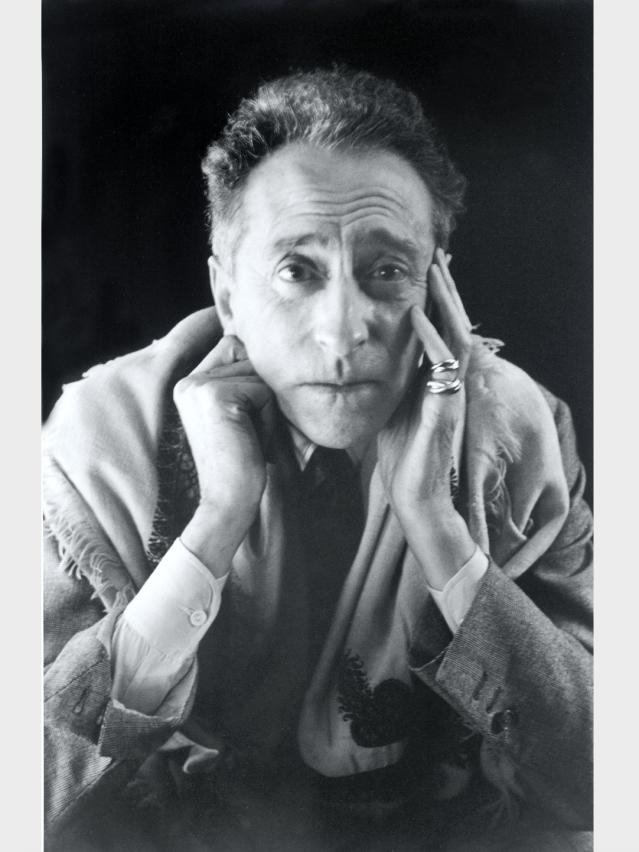 Jean Cocteau in Cartier
