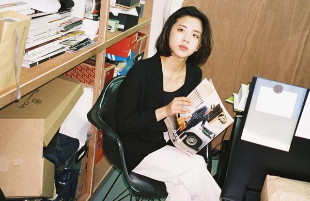 Songin Han, editor of i-D Korea
