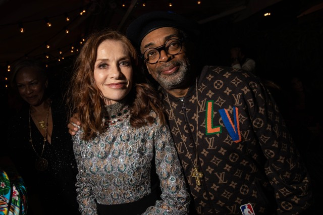 Spike Lee and Isabelle Huppert