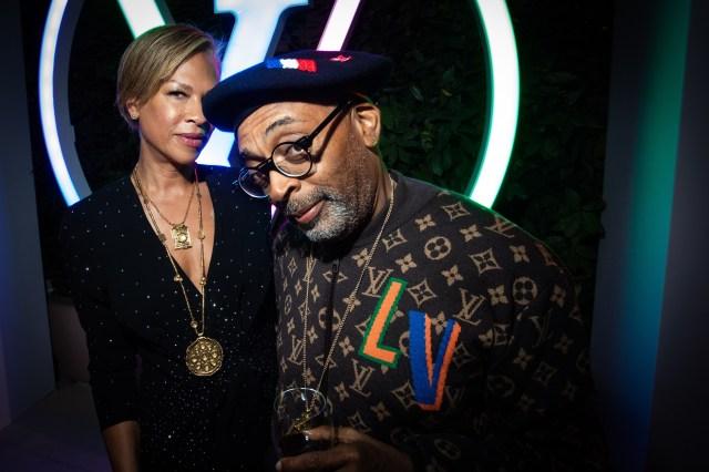 Spike and Tonya Lewis Lee