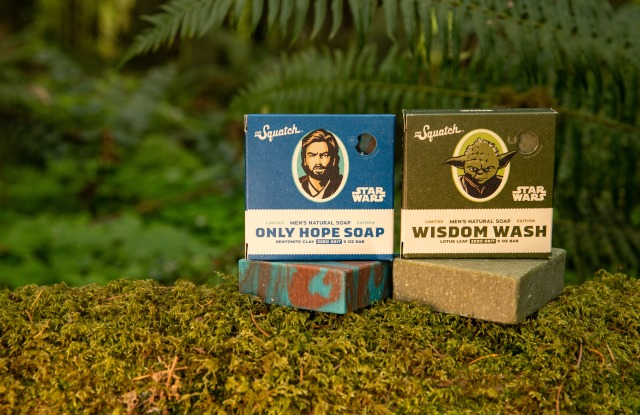The Dr. Squatch Star Wars collection