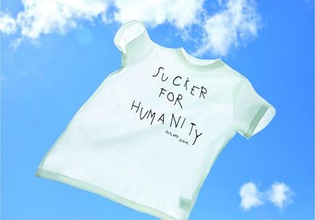 "Outland Denim's ""Sucker for Humanity"" T-shirt"