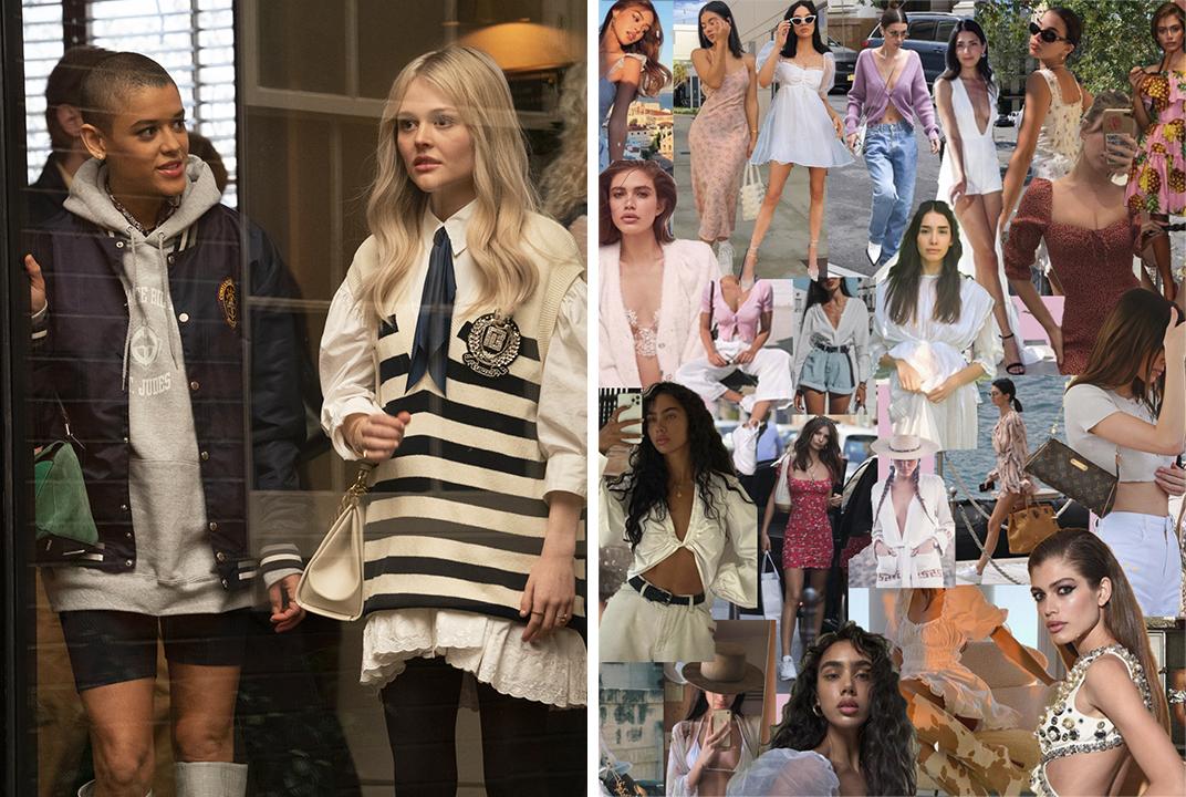 """""""Gossip Girl"""" costumes."""