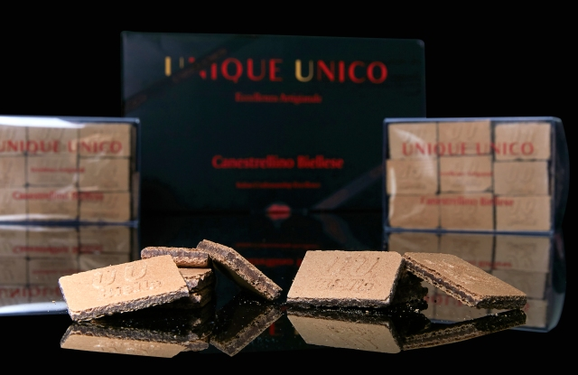 The canestrellino biscuit from Unique Unico, the pastry brand established by Ettore Fila.