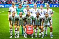 U.S. Women's National Soccer Team at the 2019 World Cup.