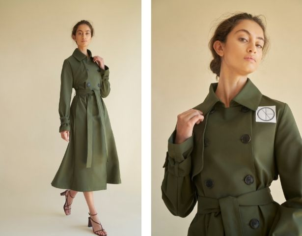 Nonie, Canadian fashion, trench