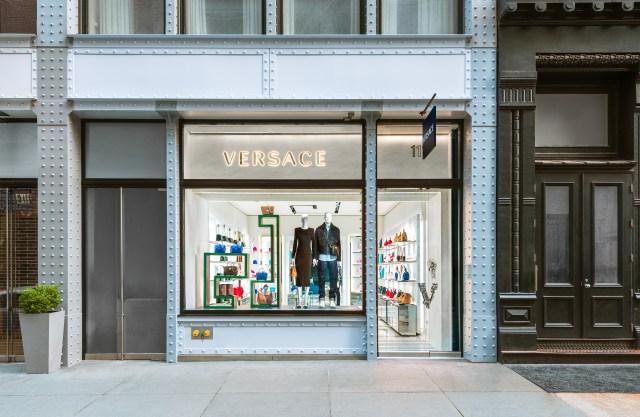 Versace's new store in SoHo