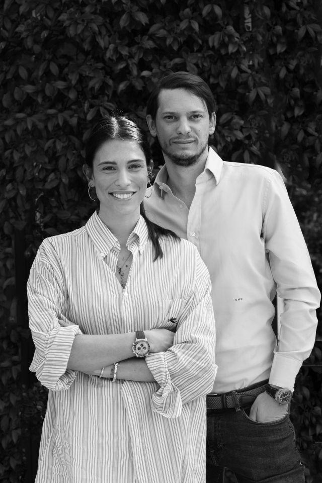 Caterina Bartolozzi and Gianluca Ottolina.