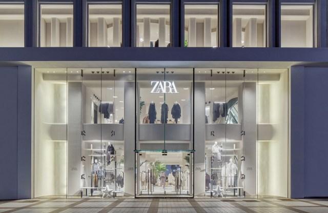A Zara store in Beijing