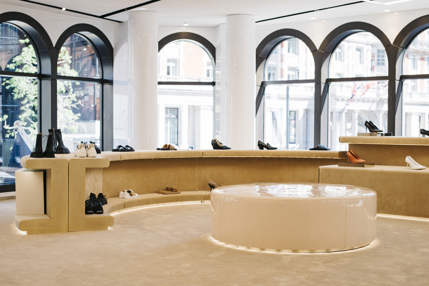 A look at the Burberry concept store opening in Knightsbridge