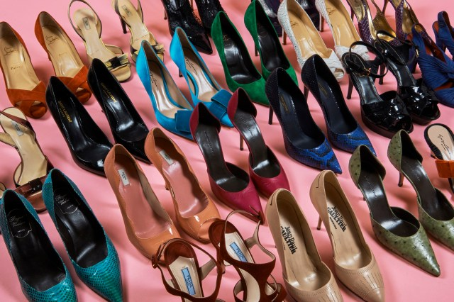 Some of Catherine Deneuve's shoes to be sold by Artcurial.